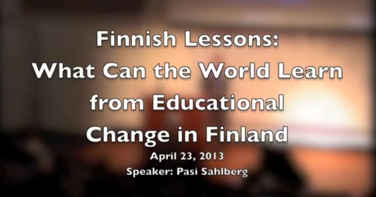 Finske lekcije: Što svijet može naučiti iz obrazovnih promjena u Finskoj
