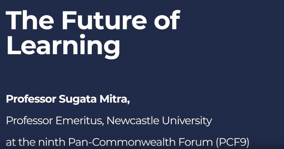 """Uvodna riječ """"Budućnost učenja"""" s profesorom Sugata Mitra"""